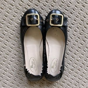 Browns couture ballet flats
